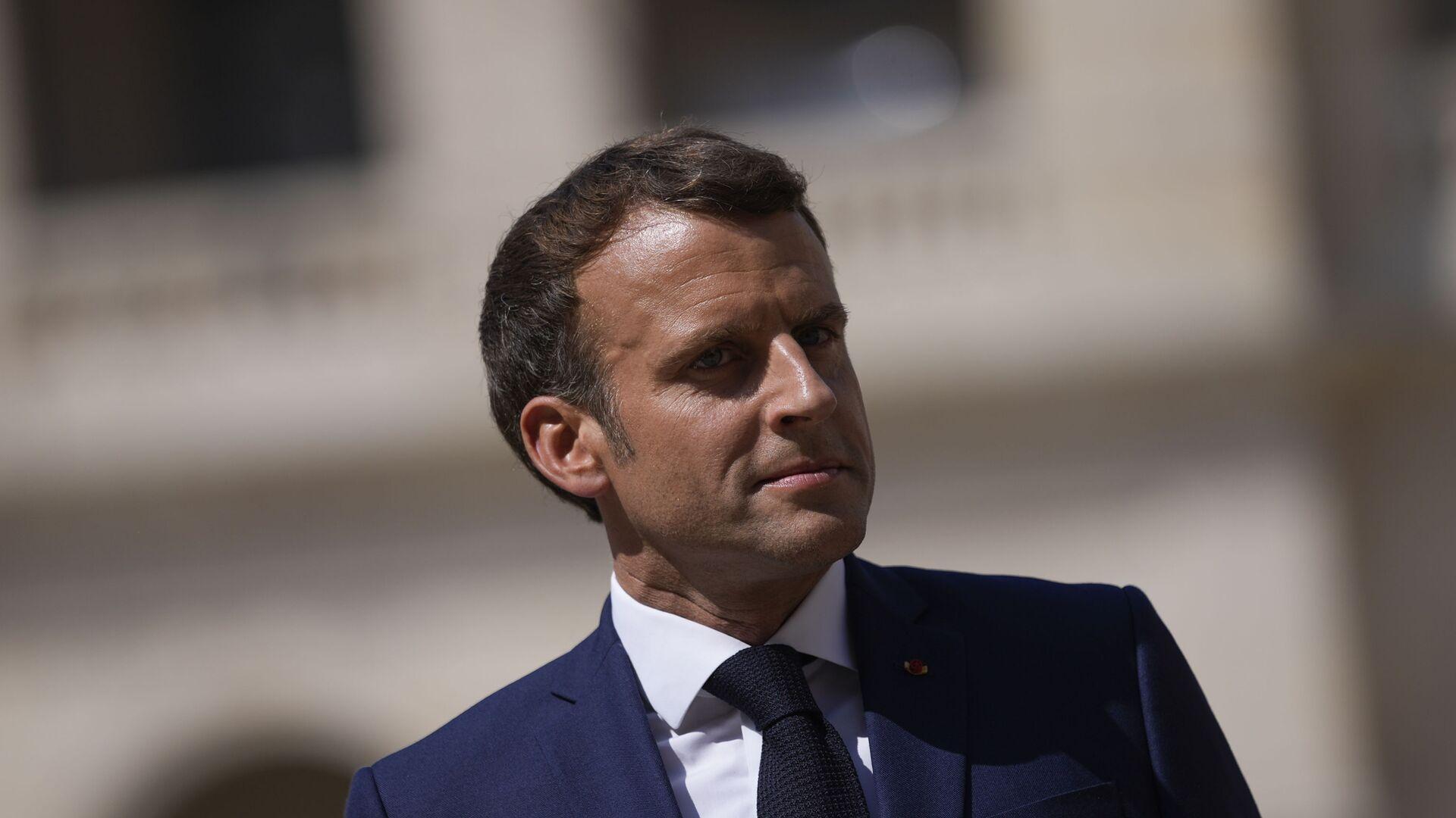 Emmanuel Macron - Sputnik France, 1920, 27.08.2021