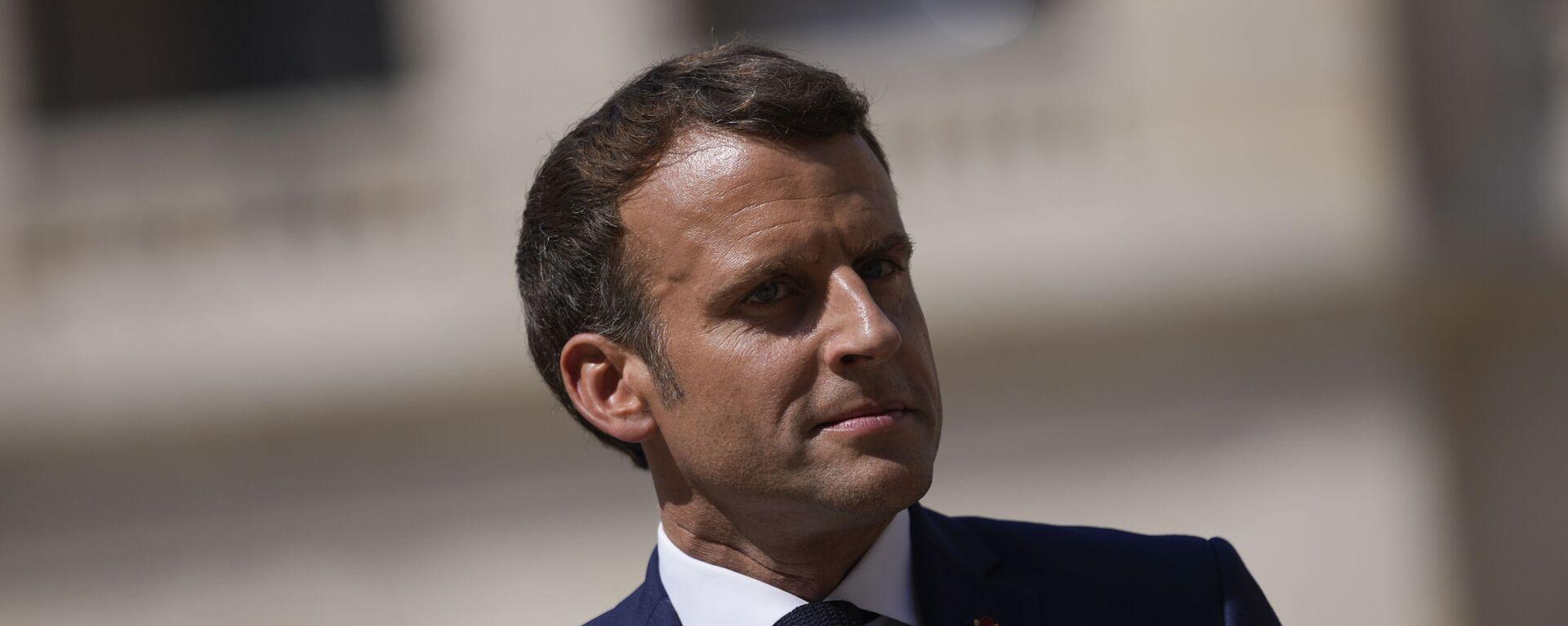 Emmanuel Macron - Sputnik France, 1920, 14.08.2021