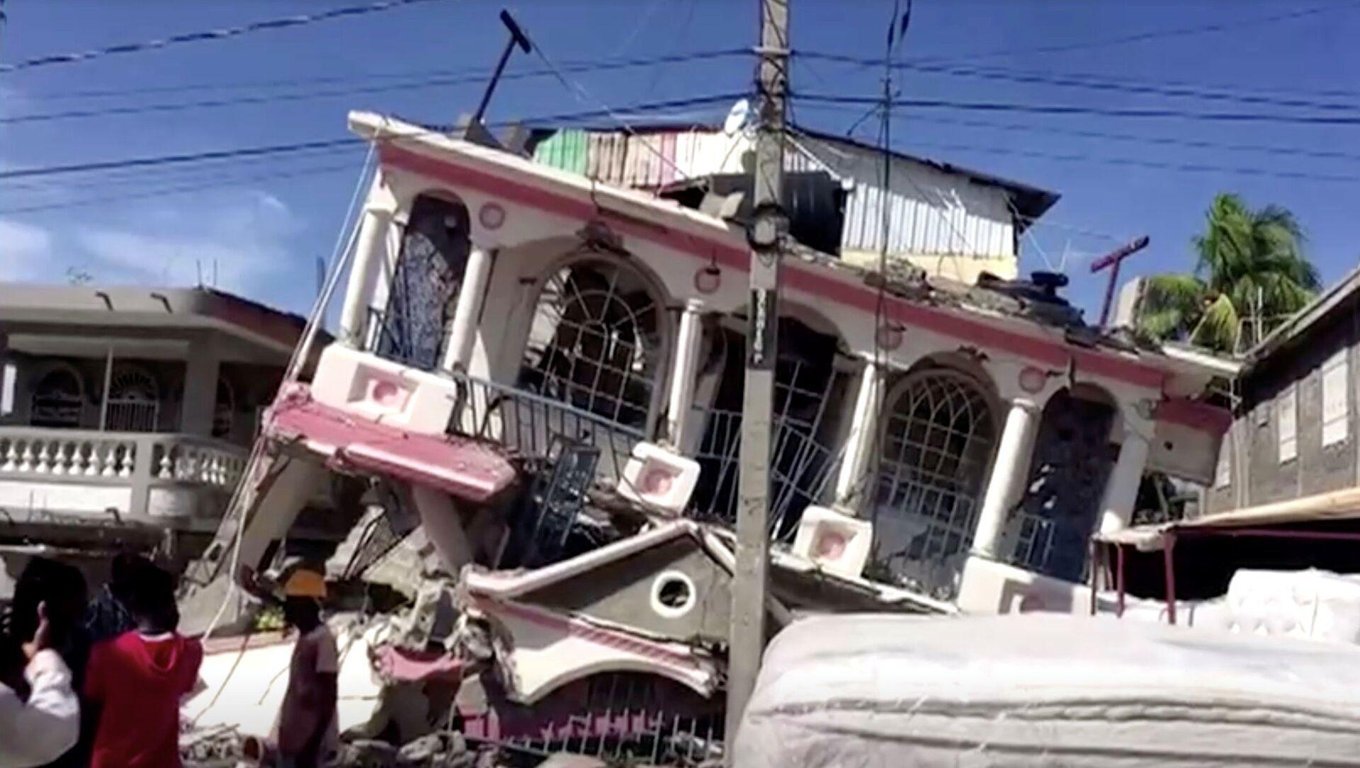 Conséquences du séisme du 14 août 2021 en Haïti - Sputnik France, 1920, 16.08.2021