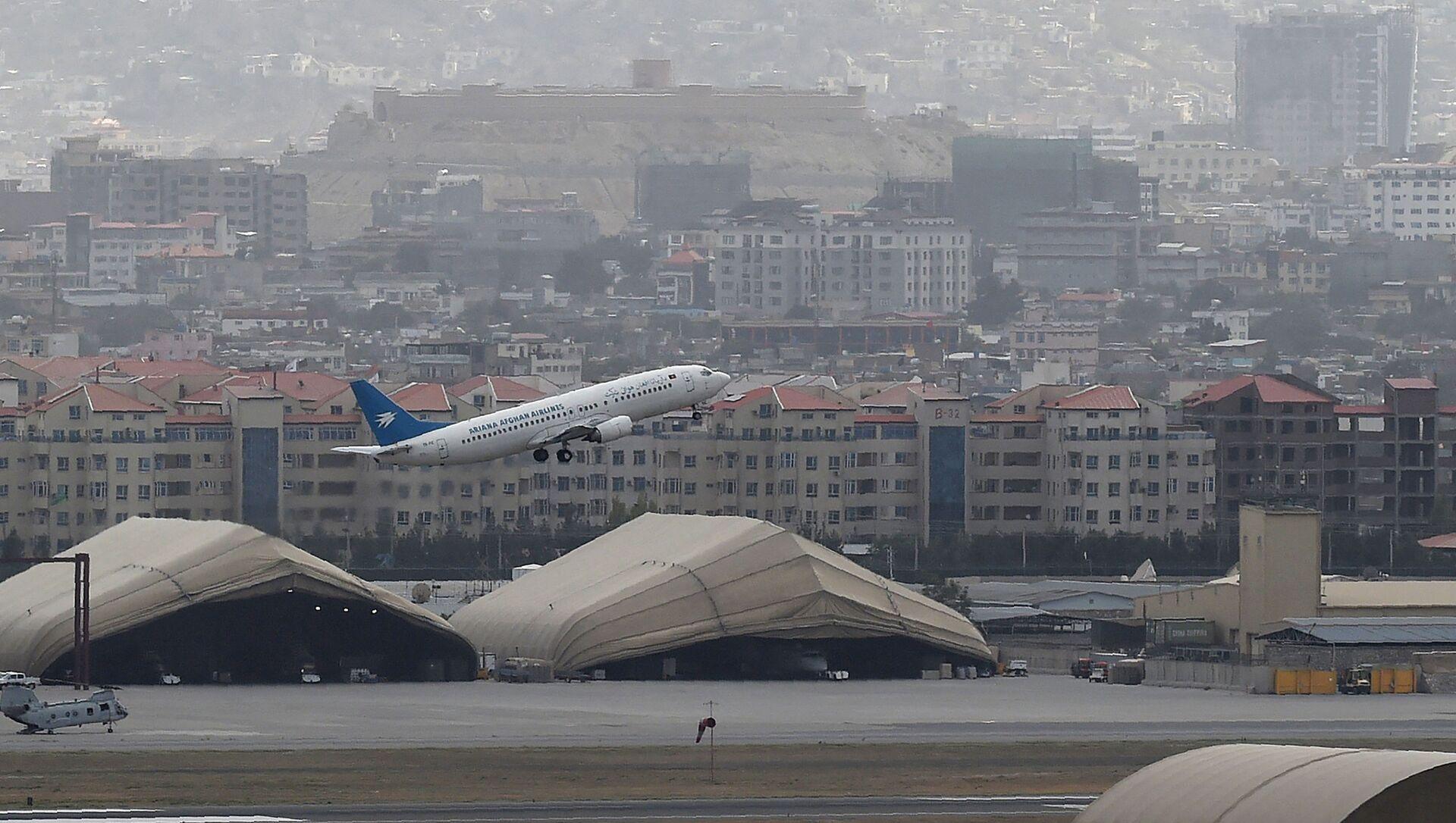 Aéroport de Kaboul, le 14 août 2021 - Sputnik France, 1920, 25.08.2021
