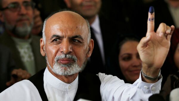 Ashraf Ghani - Sputnik France
