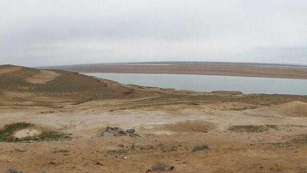 Fleuve Amou-Daria qui sert partiellement de frontière entre l'Afghanistan et l'Ouzbékistan - Sputnik France