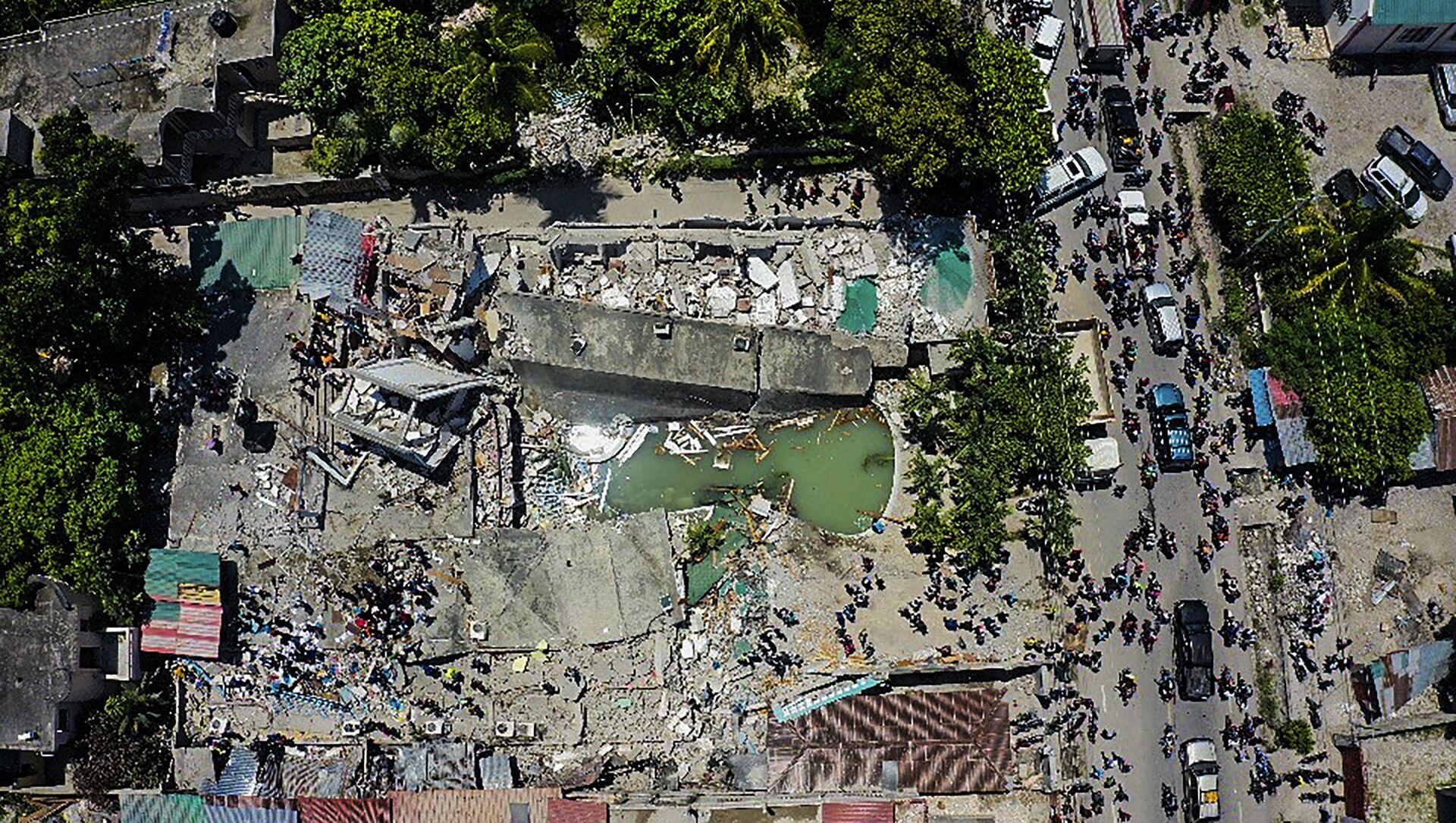 Destructions en Haïti après le séisme, le 14 août 2021 - Sputnik France, 1920, 23.08.2021