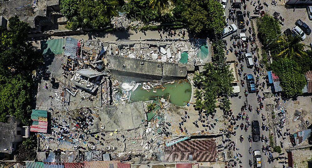 Destructions en Haïti après le séisme