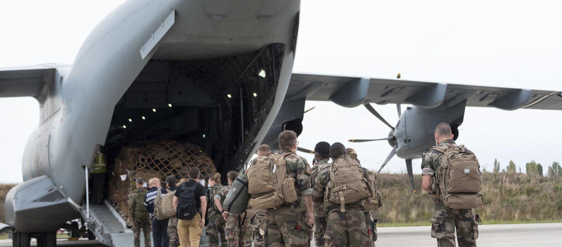 Les forces françaises quittent l'Afghanistan, le 16 août 2021 - Sputnik France, 1920, 16.08.2021