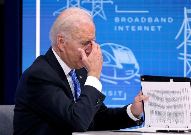 Joe Biden le 11 août 2021
