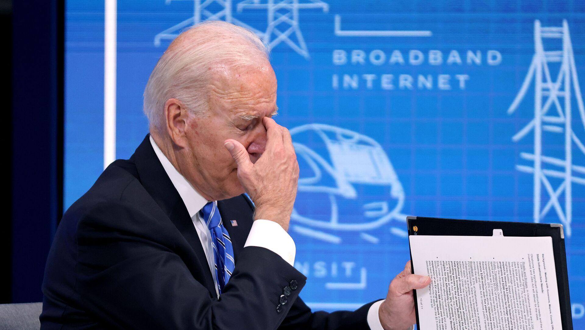 Joe Biden le 11 août 2021 - Sputnik France, 1920, 30.08.2021
