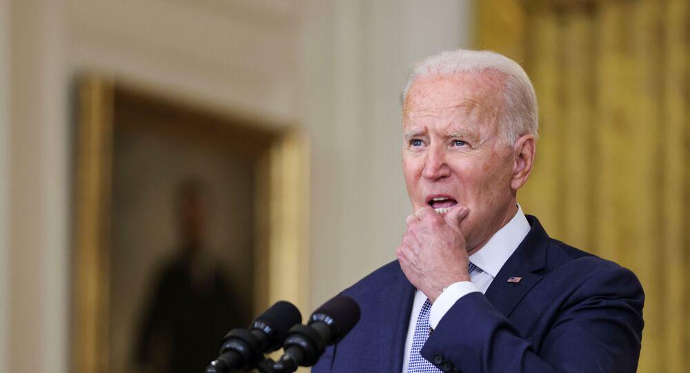 Le président américain Joe Biden à la Maison Blanche, 12 août 2021