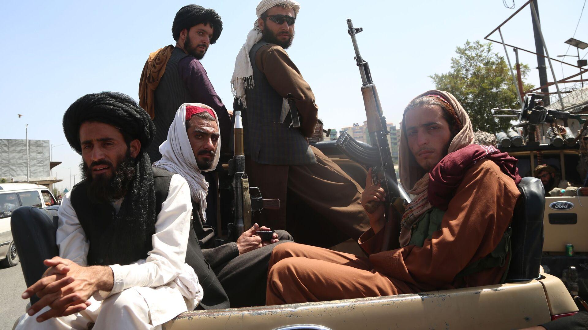 Talibans à Kaboul après la reprise du pouvoir - Sputnik France, 1920, 24.08.2021