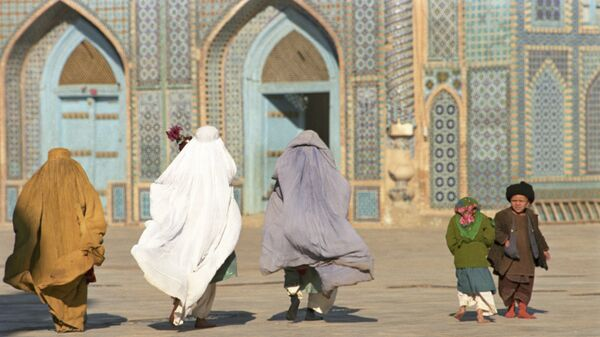 Femmes afghanes à Mazâr-e Charîf, Afghanistan - Sputnik France