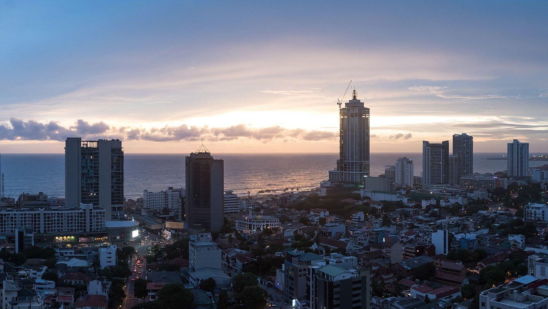 Colombo, la capitale économique du Sri Lanka et sa plus grande ville par le nombre d'habitants - Sputnik France, 1920, 17.08.2021