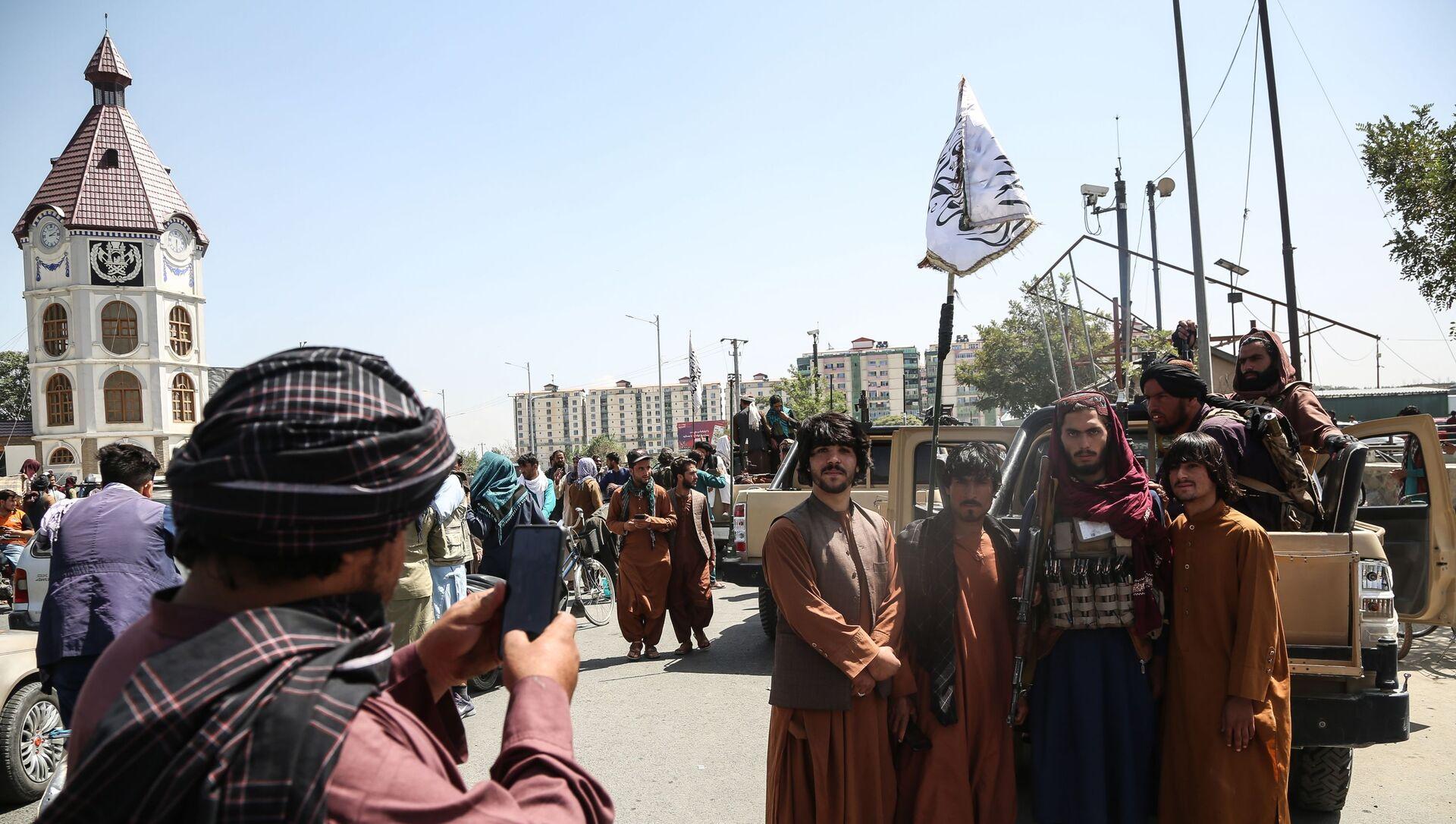 Des talibans à Kaboul - Sputnik France, 1920, 22.08.2021