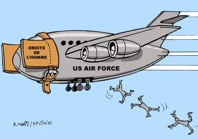 Afghanistan: les droits de l'homme jetés par les fenêtres des avions américains en fuite