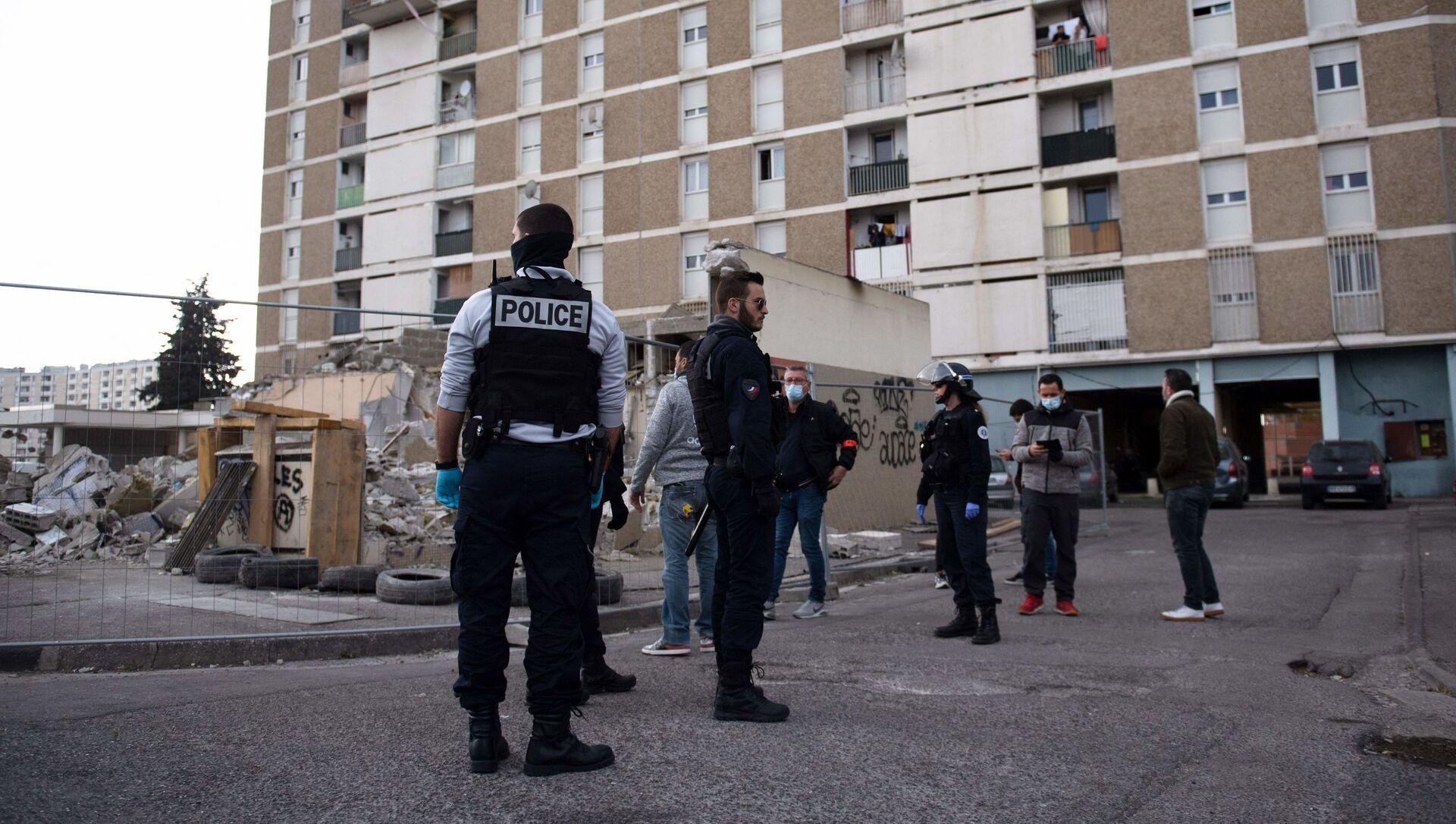 police à Marseille - Sputnik France, 1920, 19.08.2021