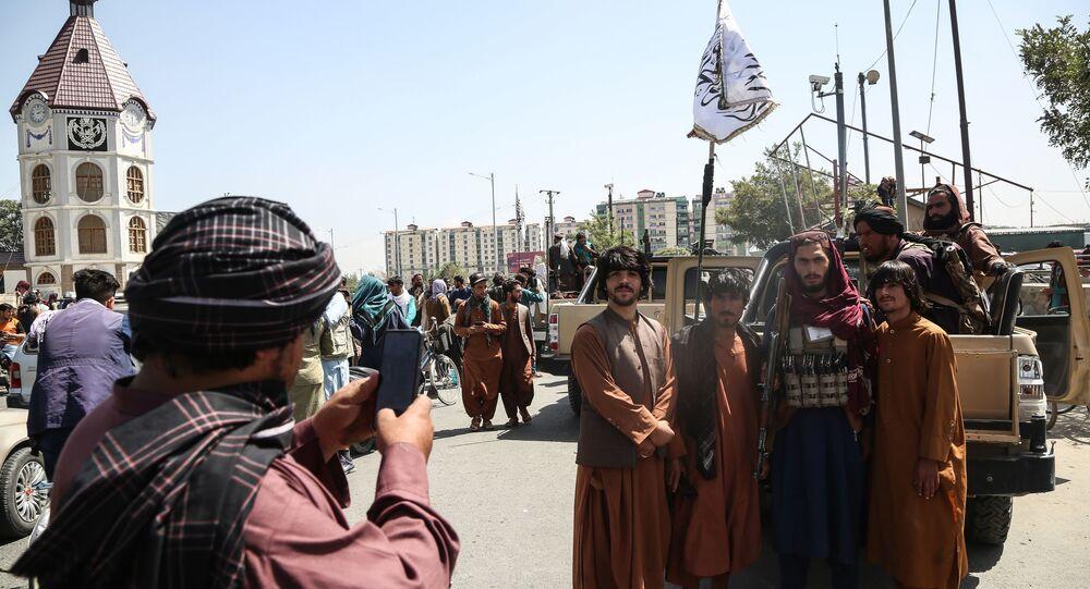 Des talibans à Kaboul