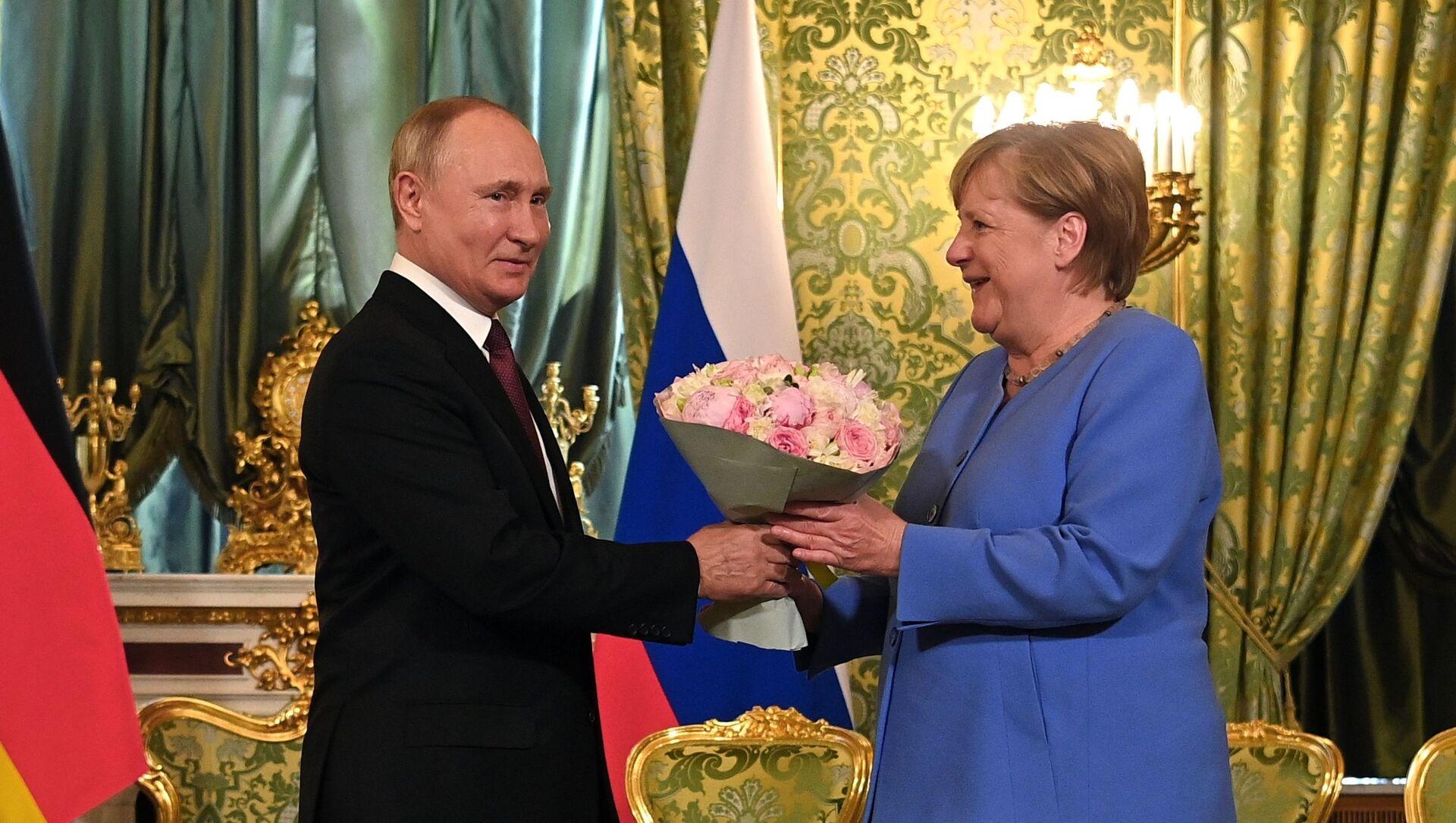 La rencontre Merkel-Poutine - Sputnik France, 1920, 20.08.2021