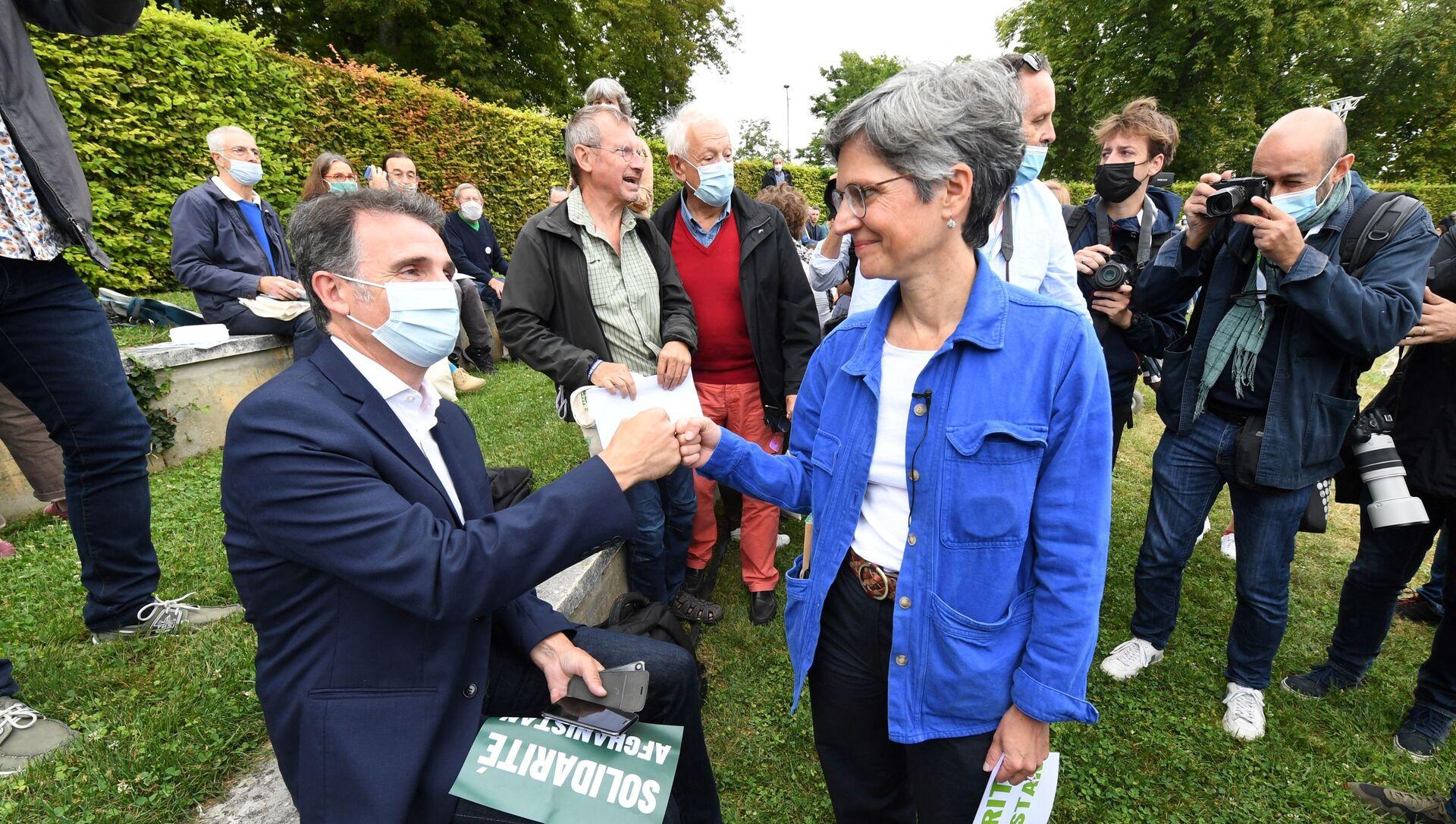 Éric Piolle et Sandrine Rousseau - Sputnik France, 1920, 21.08.2021