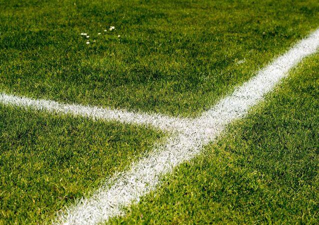 Un terrain de football