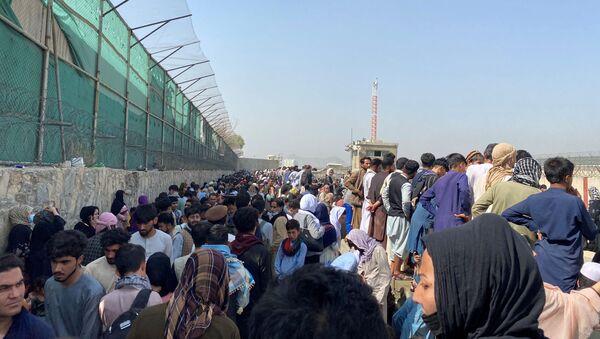 L'aéroport de Kaboul, le 23 août 2021 - Sputnik France