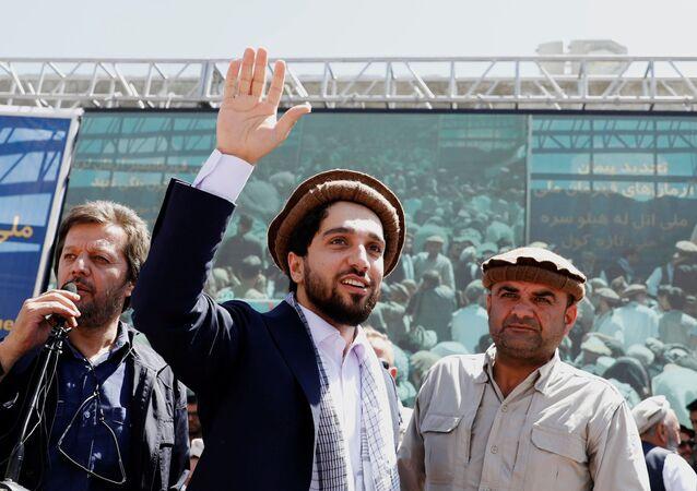 Ahmad Massoud, fils du héros afghan Ahmad Shah Massoud, dans la province du Panchir, Afghanistan, 5 septembre 2019.