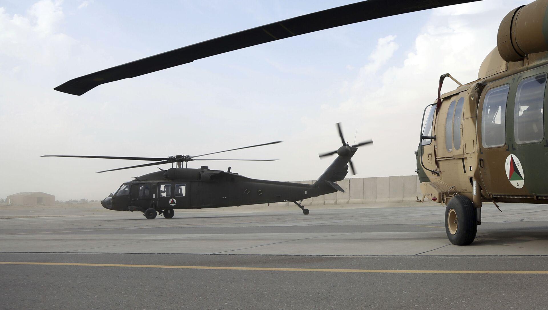 Un hélicoptère américain UH-60 Black Hawk en Afghanistan (archive photo) - Sputnik France, 1920, 25.08.2021