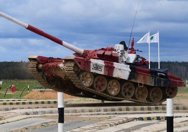 Un char russe T-72B3 (archive photo)