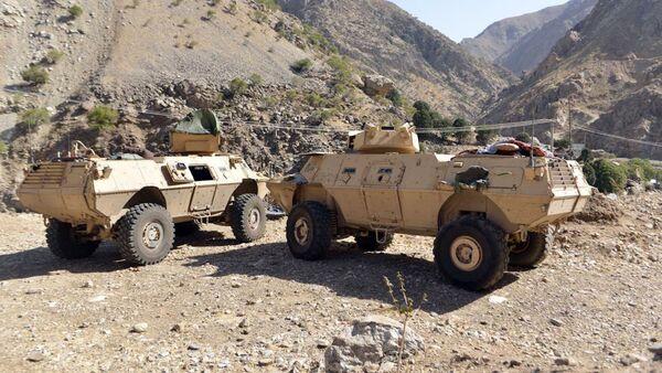 Les forces de résistance dans la vallée du Panshir. Afghanistan - Sputnik France