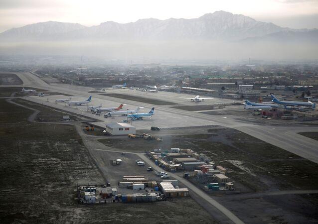 L'aéroport international Hamid-Karzaï de Kaboul (archive photo)