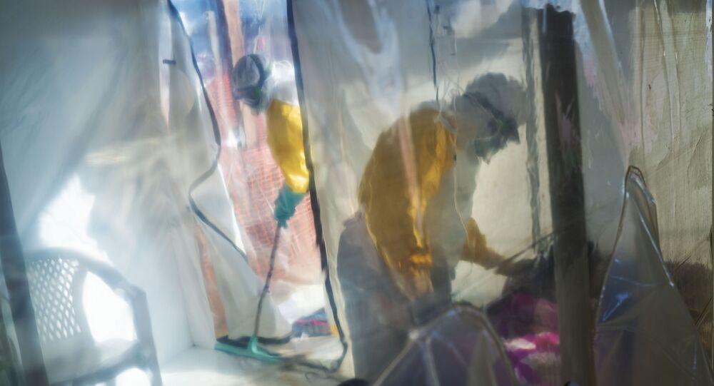 Épidémie Ebola en Afrique, image d'illustration