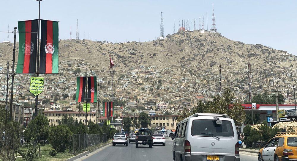 Une rue de Kaboul