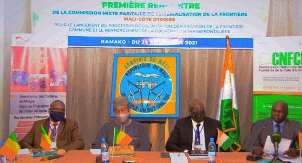 La Côte d'Ivoire et le Mali lancent le processus de matérialisation de leurs frontières communes
