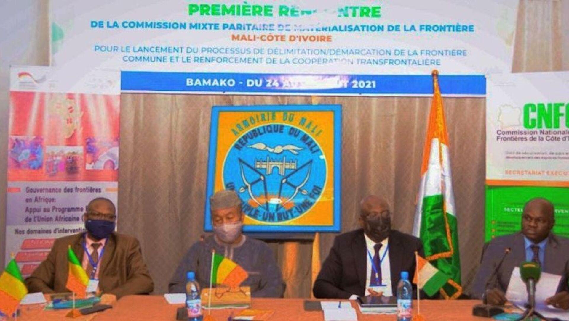 La Côte d'Ivoire et le Mali lancent le processus de matérialisation de leurs frontières communes - Sputnik France, 1920, 07.09.2021