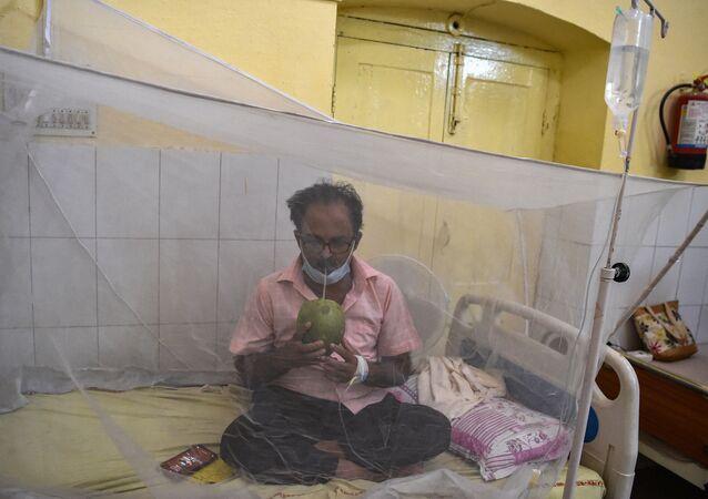 Un patient attent de dengue