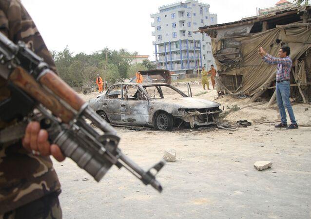 Situation à Kaboul, août 2021