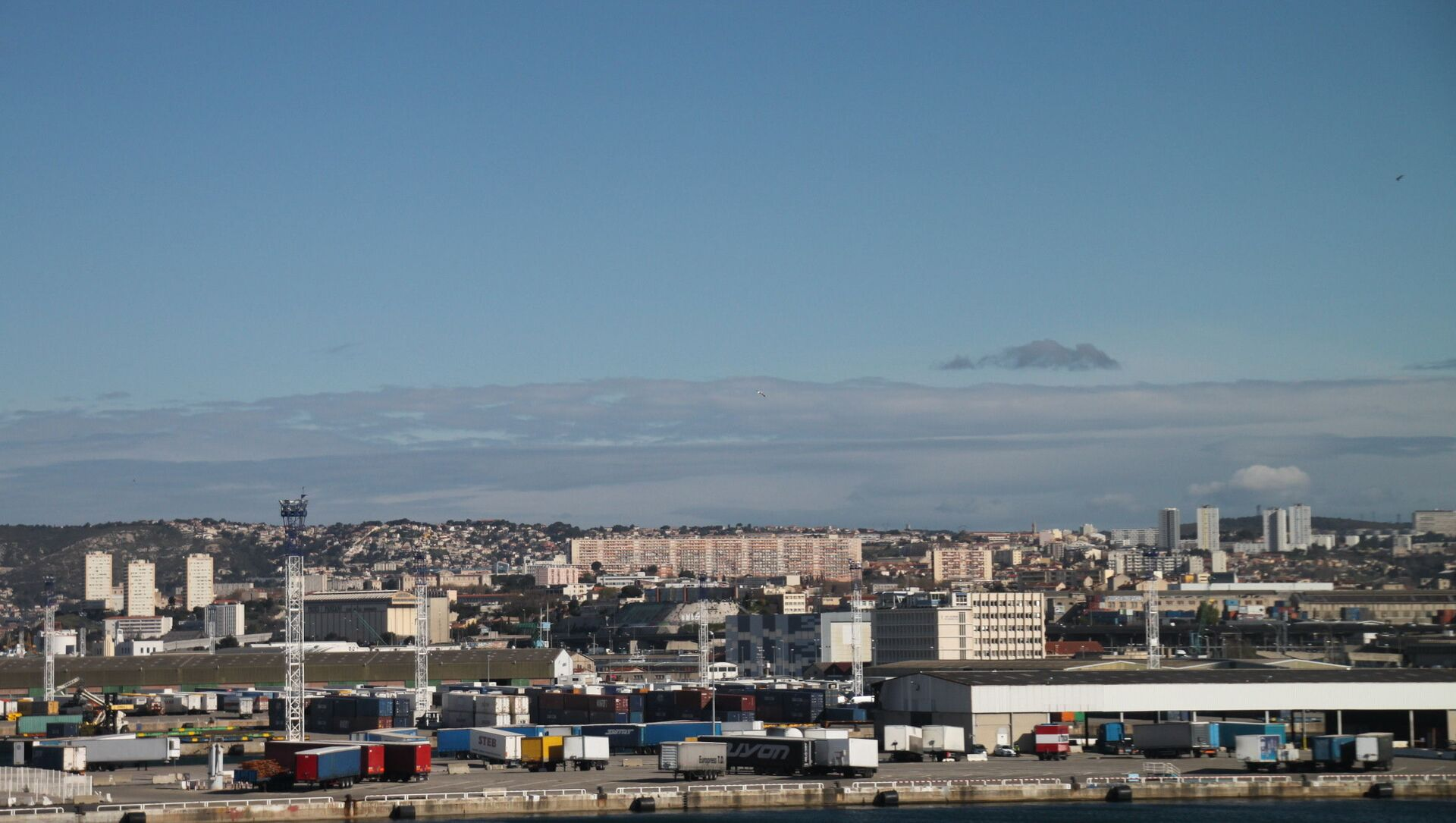 Marseille, panorama des quartiers nord - Sputnik France, 1920, 01.09.2021