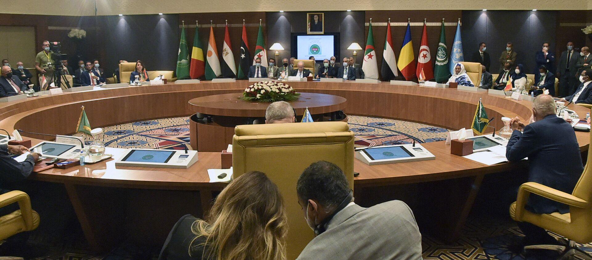La capitale algérienne a accueilli, les 30 et 31 août 2021, une réunion des pays voisins de la Libye - Sputnik France, 1920, 02.09.2021