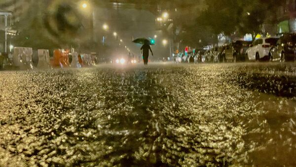 Ouragan Ida à New York - Sputnik France