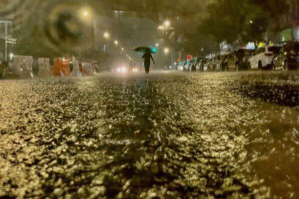Fortes pluies à New York causées par l'ouragan Ida. - Sputnik France