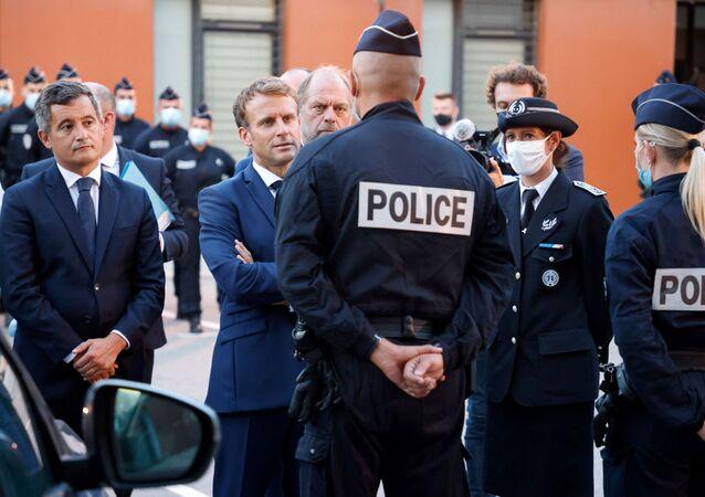 Emmanuel Macron, visite à Marseille
