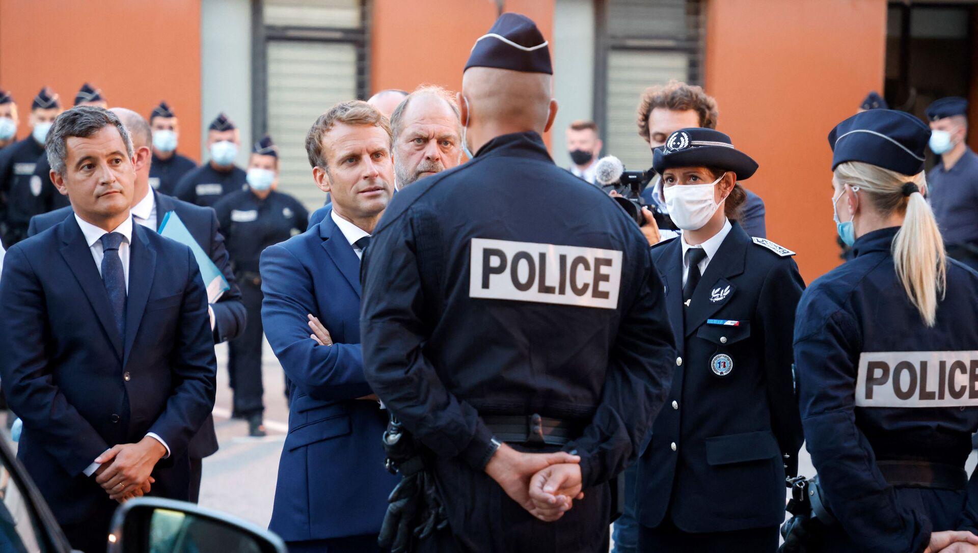 Emmanuel Macron, visite à Marseille - Sputnik France, 1920, 02.09.2021