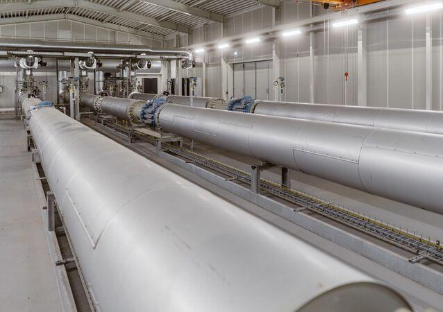 Le gazoduc européen Eugal, qui recevra du gaz du Nord Stream 2 (archive photo)