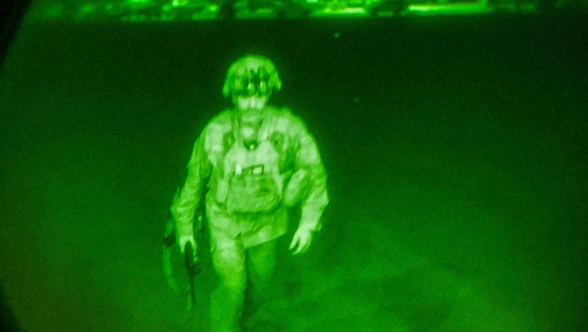 Le dernier soldat américain quittant Kaboul, le 30 août 2021  - Sputnik France, 1920, 02.09.2021