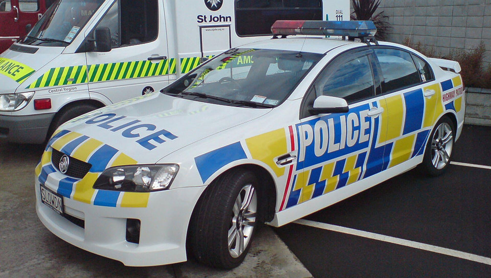 New Zealand Police - Sputnik France, 1920, 03.09.2021
