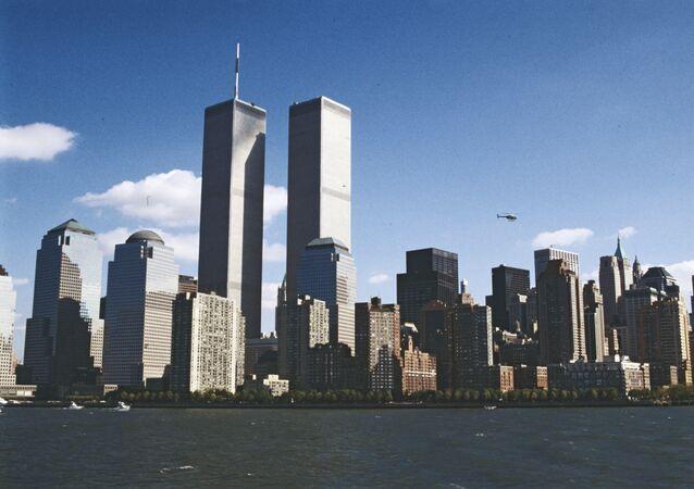 Les tours du World Trade Center de New York (archive photo)