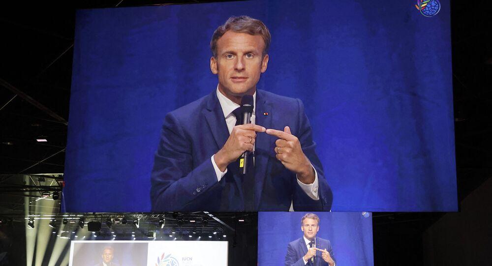 Discours inaugural d'Emmanuel Macron au congrès mondial de la nature de l'IUCN