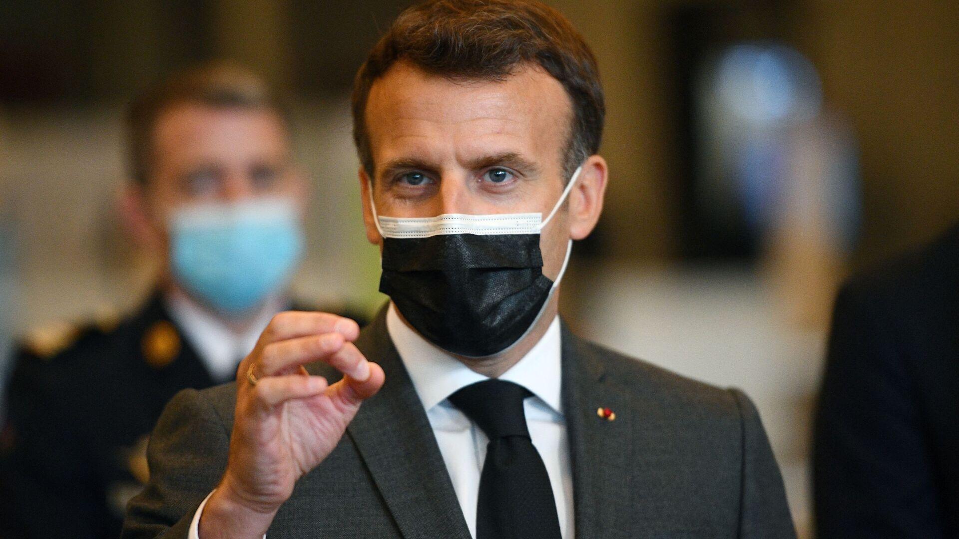Emmanuel Macron  - Sputnik France, 1920, 05.09.2021