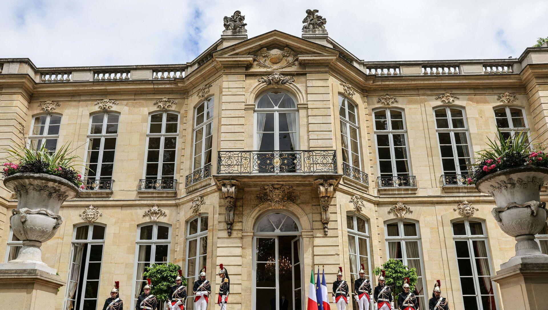 Hôtel de Matignon - Sputnik France, 1920, 06.09.2021