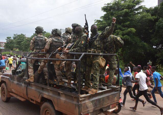 Сoup d'État à Conakry, le 5 septembre 2021