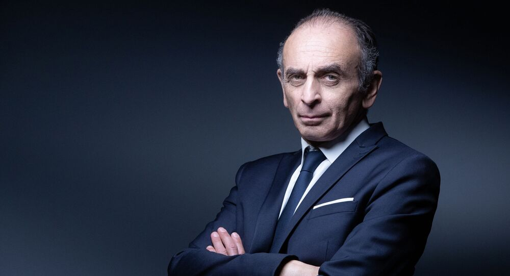 Le polémiste et écrivain Éric Zemmour, avril 2021