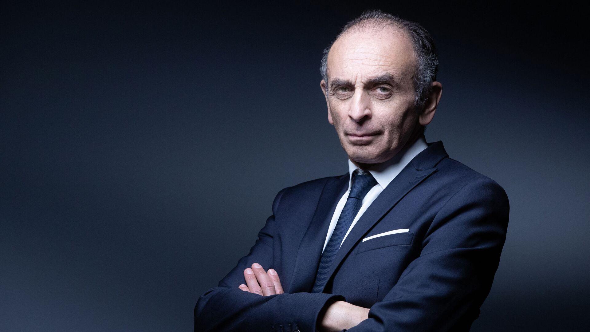 Le polémiste et écrivain Eric Zemmour, avril 2021 - Sputnik France, 1920, 07.09.2021